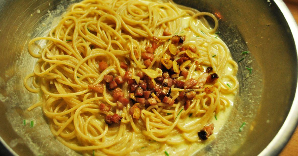 Špagety carbonara, fotogaléria 8 / 8.