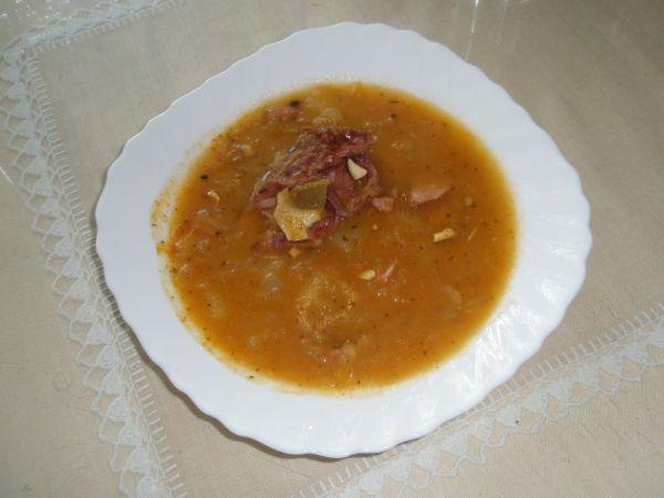 Kapustová polievka od babičky |