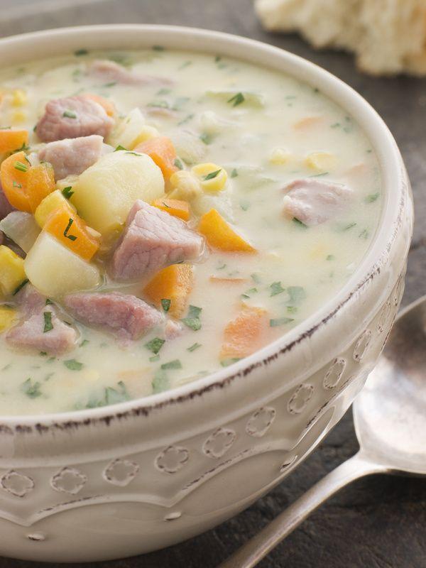 Ragú polievka s estragónom |