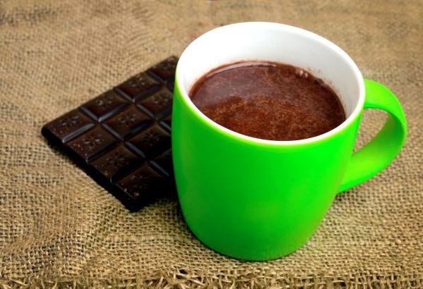 Horúca čokoláda so smotanou |