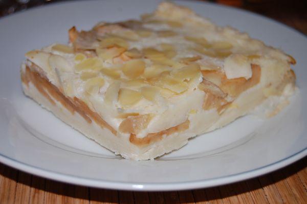 Francúzska jablková torta |