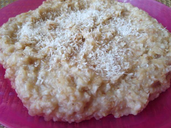 Kokosovo-citrónová kaša z varenej pohánky |
