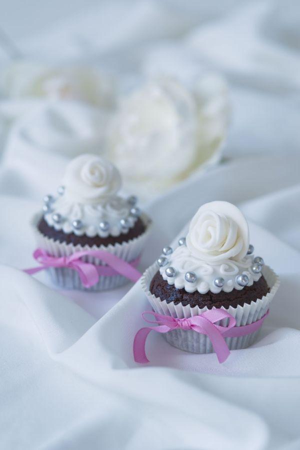 Kakaovo-perníkové muffiny s fondánom |