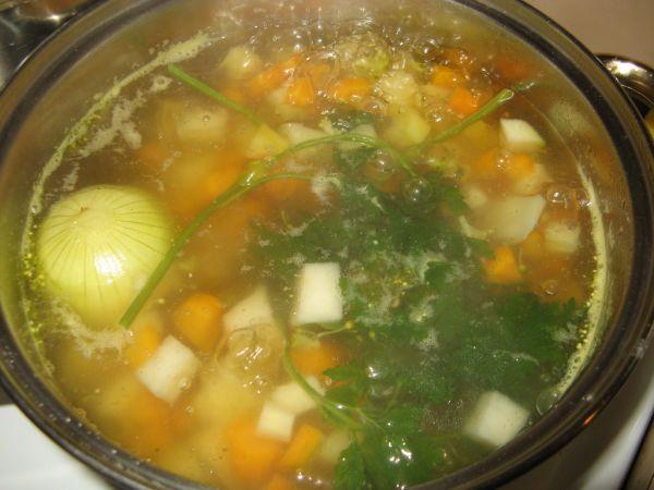 Rýchla zeleninová polievka |