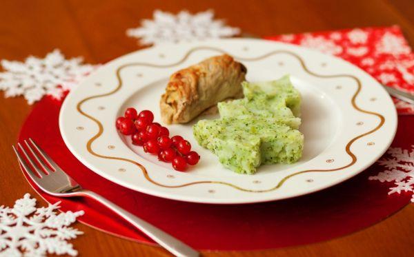 Zemiaková kaša s brokolicou |