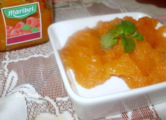 Džem z tekvice Hokaido s pomarančom |