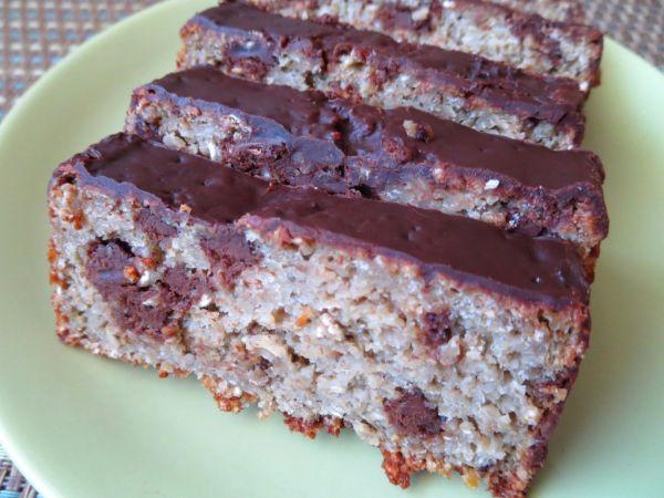 Cuketovo-čokoládový chlebík z ovsených vločiek ...
