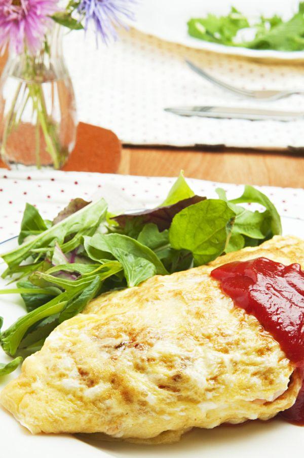 Ryžová omeleta |