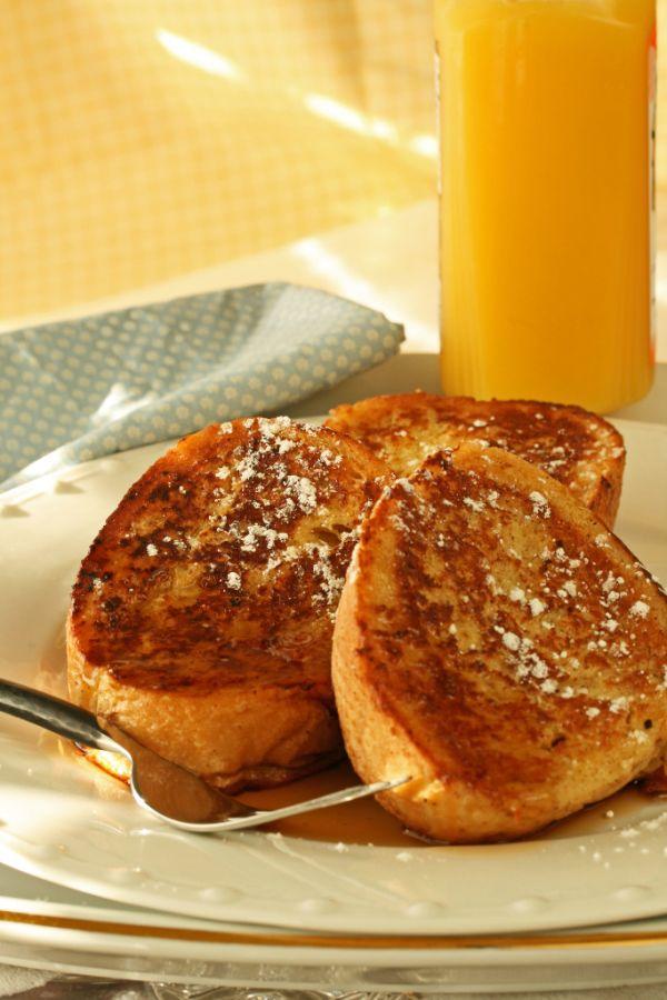 Pomarančový francúzsky toast |