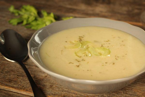 Krémová zelerová polievka  Potage creme de celeri |