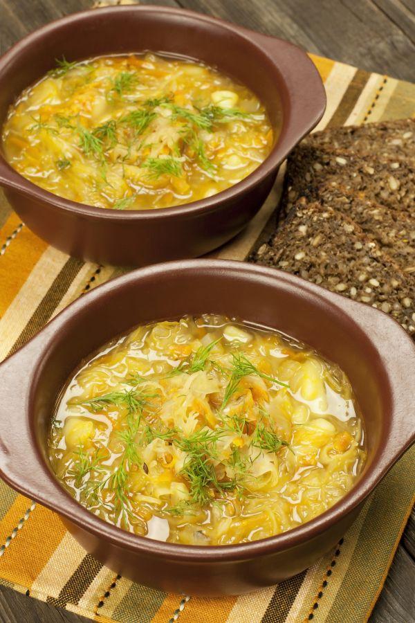 Kelová polievka so zemiakmi |