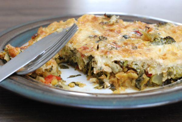 Šošovicovo-brokolicový nákyp s mozzarellou ...