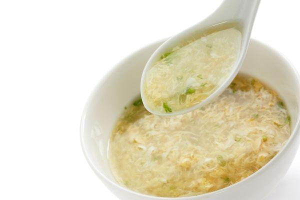 Rascová polievka s vajcom |