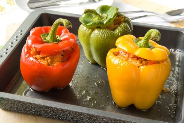Papriky plnené sójou |