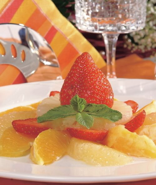 Ovocný šalát s likérom |
