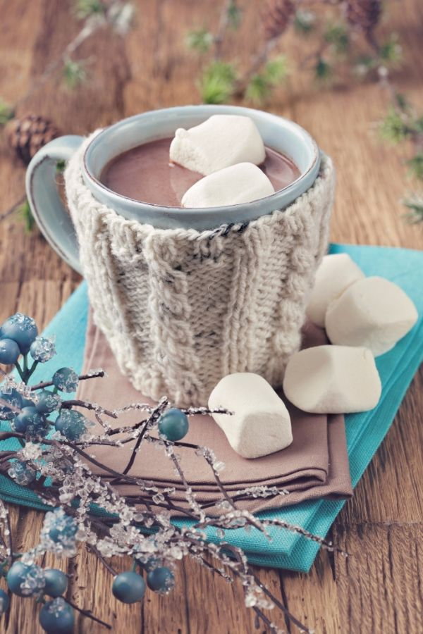 Horúca čokoláda s marshmallow |