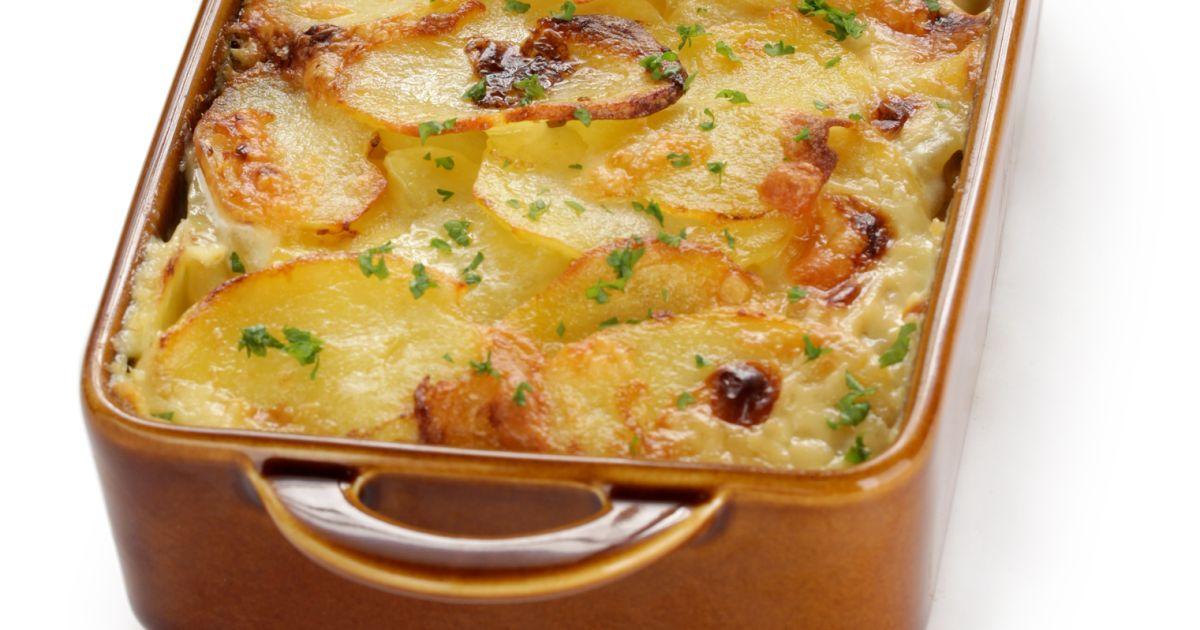Francúzske zemiaky s klobásou, fotogaléria 1 / 1.