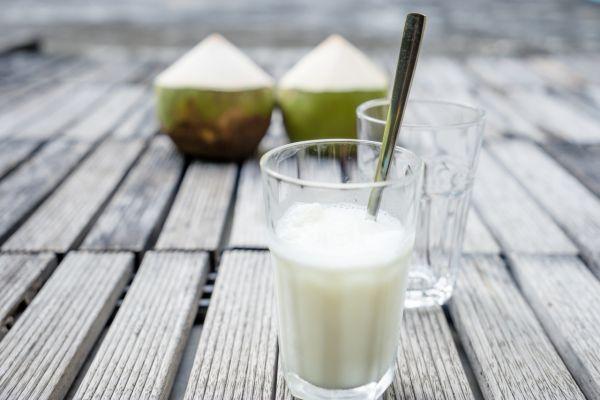 Krémové kokosové smoothie |