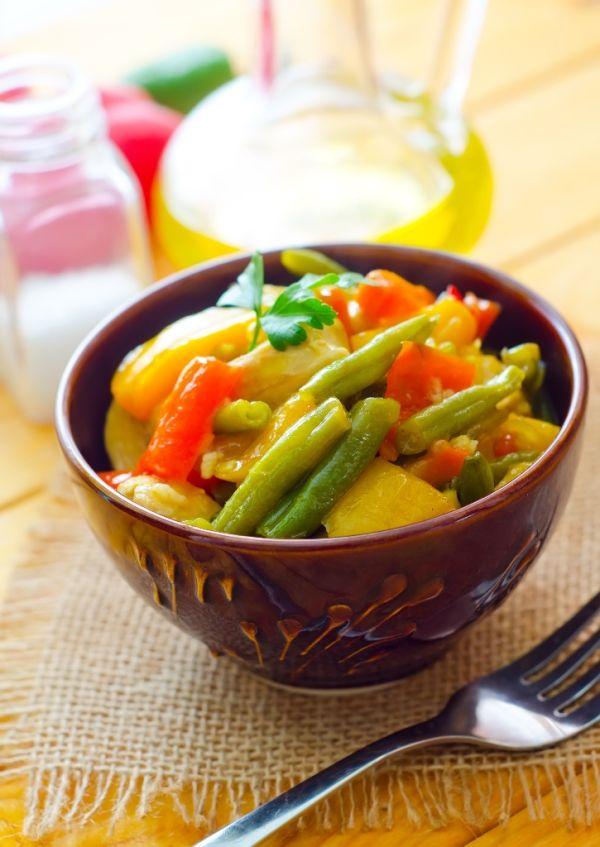 Eintopf zo zelenej fazuľky a zemiakov |