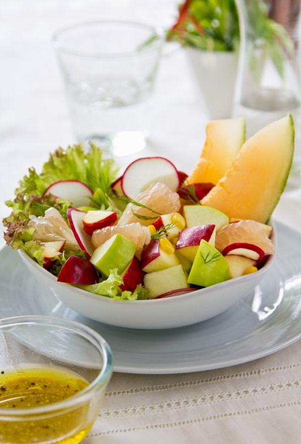 Letný šalát s melónom |