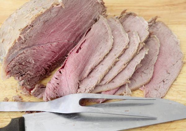 Varené hovädzie mäso |
