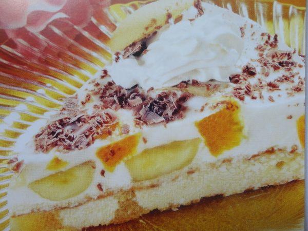 Nepečená banánová torta |