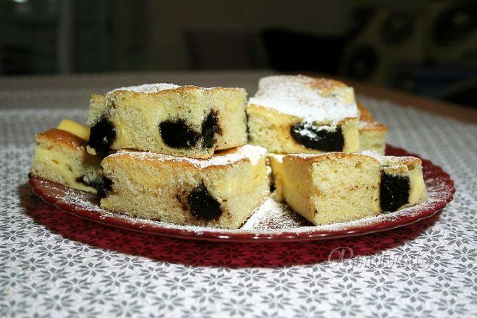 Tvarohovo-lekvárový hrnčekový koláč