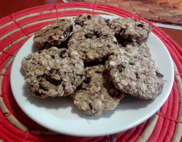 Zdravé cookies s banánom a kokosom |