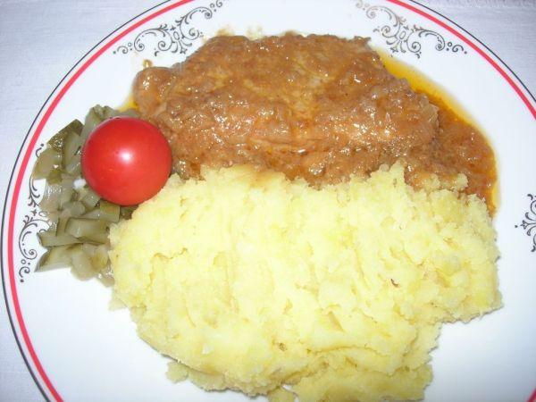 Bravčové mäso na horčici |