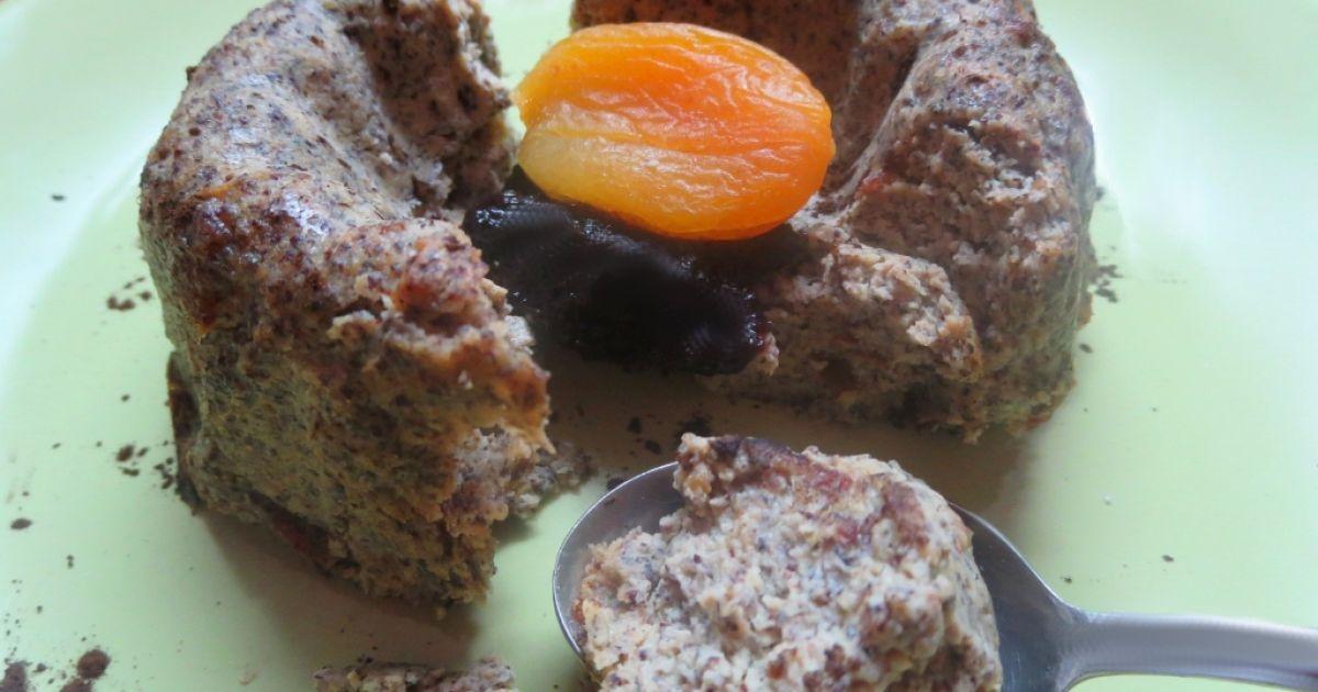 Makový tofu koláč so sušenými datľami, fotogaléria 1 / 8.