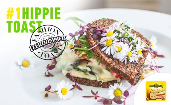 Hippie vegetariánsky toast |