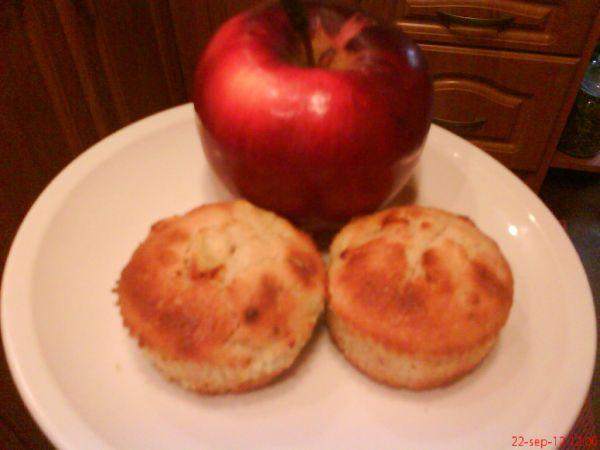 Jablkové mufiny s orechmi |