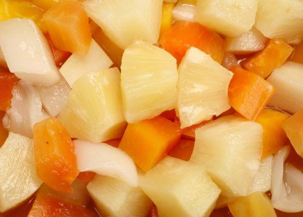Tekvica ako ananás |