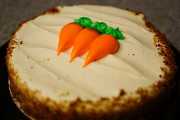 Mrkvový koláč s ovsenými vločkami |