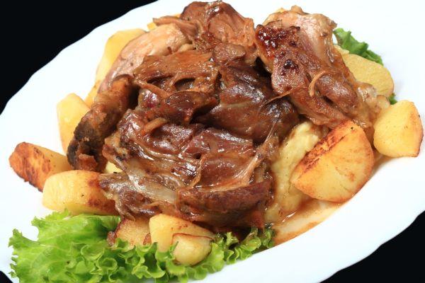 Restované teľacie mäso |