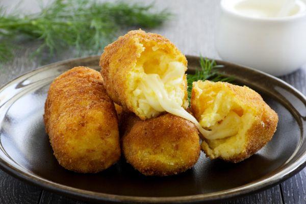 Zemiakové krokety so syrom |