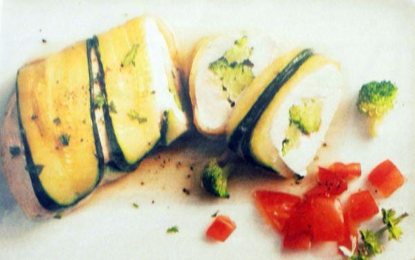 Kuracie prsia v cukine s brokolicou |