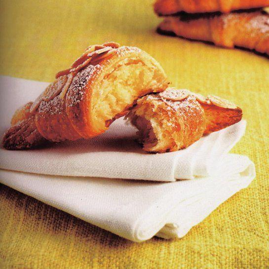 Mandľové croissanty |
