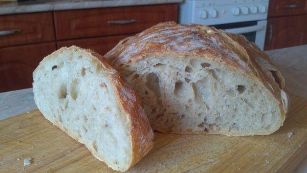 Domáci chlieb BEZ miesenia |