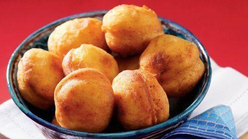 Slané zemiakové šišky  