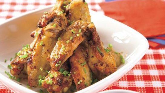 Chrumkavé krídla so sójovou omáčkou  