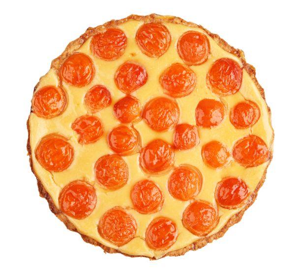 Marhuľovo-tvarohový koláč |