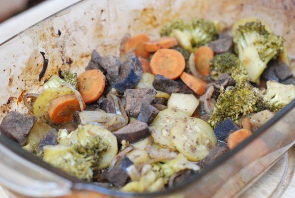 Pečená bravčová pečienka s brokolicou |