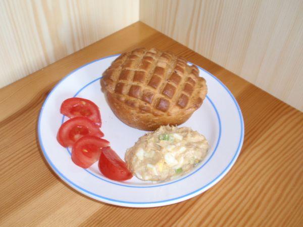Tuniakovo-vajíčková pomazánka |