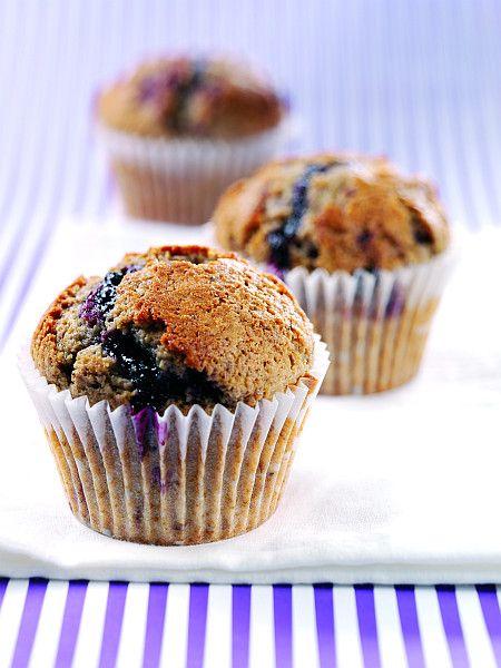 Čučoriedkove muffiny |
