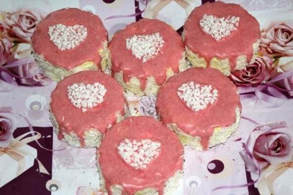 Valentínske tortičky  