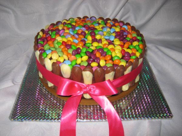 Detská jahodovo  čokoládová torta |
