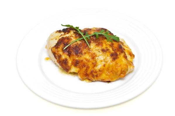 Kurča v horčicovej omáčke so syrom |