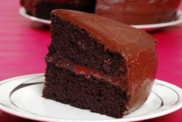 Čokoládová torta s lekvárom |
