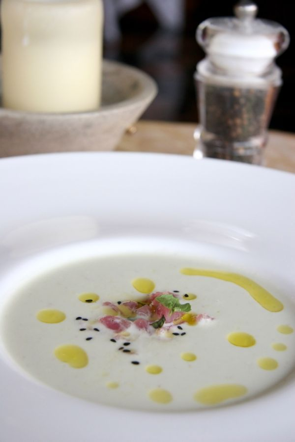 Thajská tuniakové polievka |